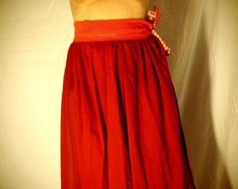 Little red rooster skirt