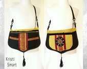 Large Boho drama queen purse