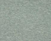 Light Gray, 1980s Vintage, Wide Interlock Knit Fabric, Lightweight, Polyester Cotton, half yard, B4