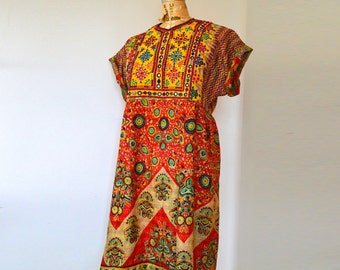 Bohemian Peasant Dress