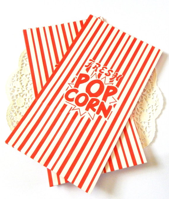 popcorn bags popcorn paper bags popcorn box striped paper
