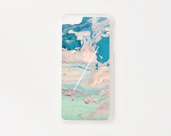 iPhone 6 Plus Case - Paradise Marble iPhone Case - Hard Plastic or Rubber