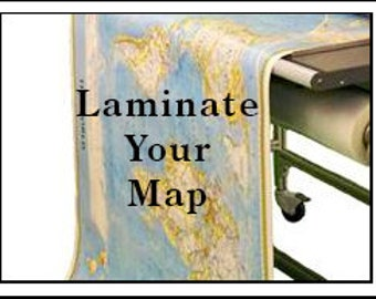 Laminate Your Map