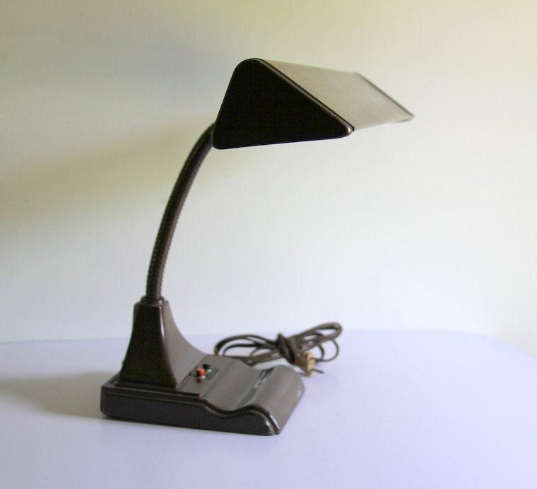 Popular Image Of Idelec Task Table Lamp Flexible Arm H365mm BlackChrome Ref