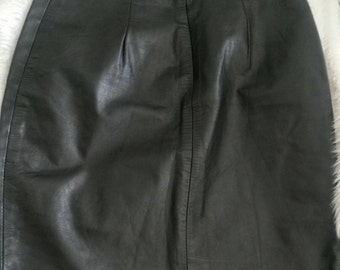 Vintage Anne-Gee Leather Skirt