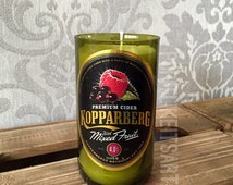 Kopparberg Mixed Fruit Cider Candle Upcycled Bottle Unique Present quirky