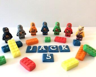 Edible Lego Ninjago Cake Topper