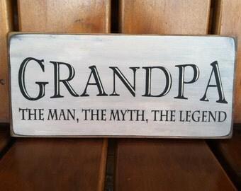 Grandpa the man etsy grandpa the man the myth the legend daddy the man the myth the legend papa the sciox Gallery