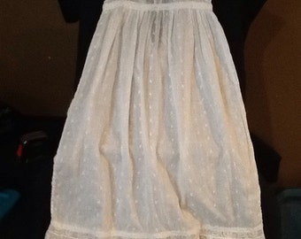 Vintage babys cotton dress