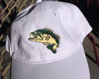 Large Mouth Bass- White