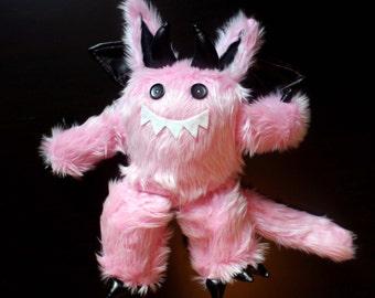 Pink Fuzzy Demon