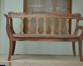 Mesquite bench