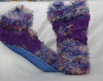 slippers / slippers knitted for woman / knitted slippers