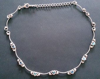 Mother of Pearl Choker Style Necklace