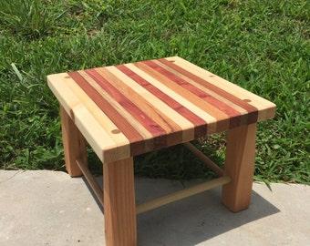Assorted Wood Foot Stool - Handmade & Wood foot stool | Etsy islam-shia.org