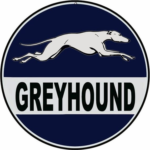 Greyhound Bus Signs by mysigngarage on Etsy