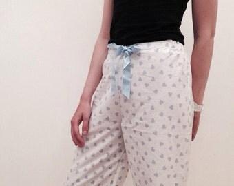Heart-patterned Pyjamas