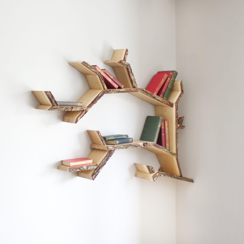 Mini Oak Tree Branch Shelf 1.0m Wide Made To By