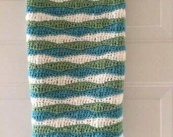 Crochet Blanket Wave