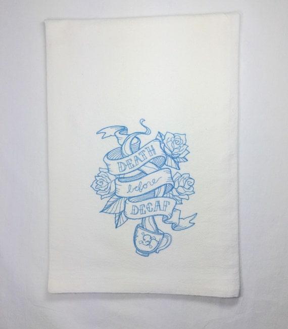 Tea Towels Unique: Custom Tea Towel Tea Towel Flour Sack Custom By