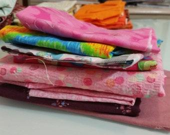 Pink cloth lot