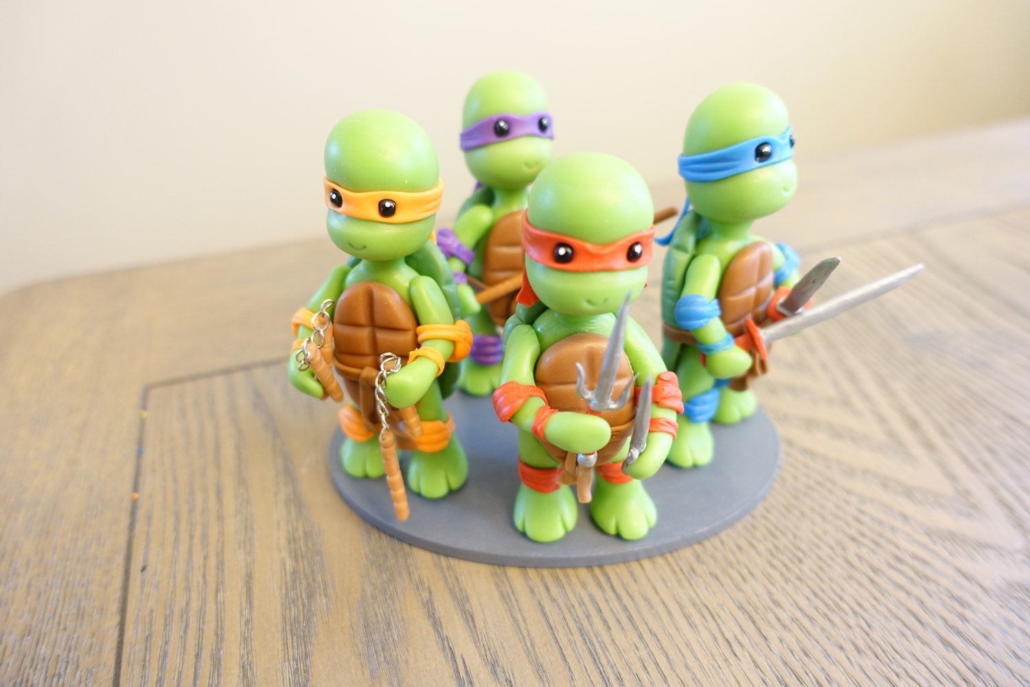 Ninja turtles cake topper party decorations ninja turtles for Tmnt decorations