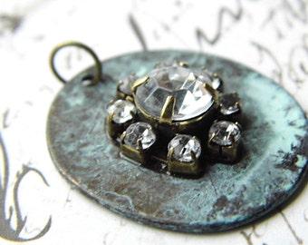 Antique Patina Pendant, Findings