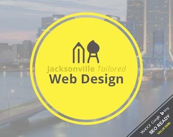 Web Design - Jacksonville Tailored Custom Web Design Package