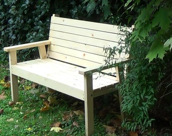 An easy to make Bench Seat   PDF downloadable file