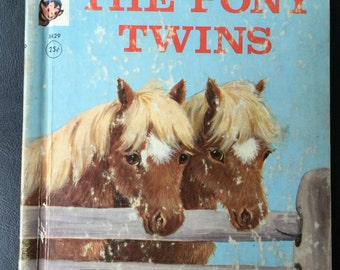 The Pony Twins (Hardcover) by Helen Wing (Author), Marjorie Cooper (Illustrator) Rand mcNally