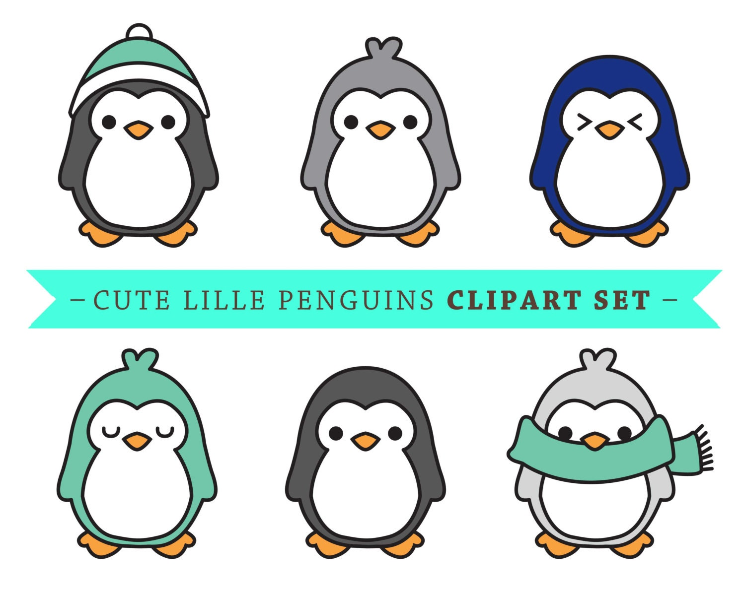cute penguin drawings tumblr