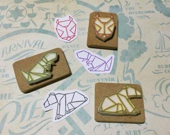 Animal origami <series>
