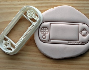 PSP Controller Kids Console Play Cookie Cutter -/- Brand New -/- Made To Order -/- Made From Biodegradable Material