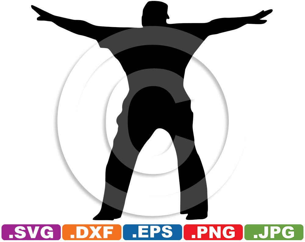 Baseball Umpire Clip Art Image svg & dxf by iDrawSilhouettes