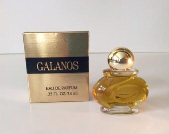 "Perfume Mini ""Galanos"" by James Galanos.edp 7.4 mls designer edp"