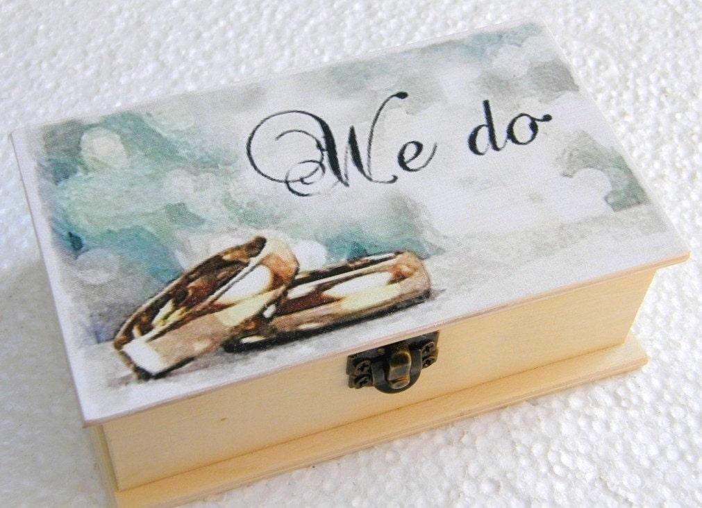 hochzeit hochzeit ring kasten ring box personalisierte feld. Black Bedroom Furniture Sets. Home Design Ideas