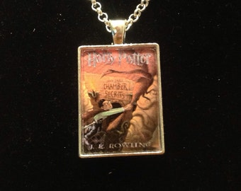 Harry Potter and the Chamber of Secrets book pendant or keyring