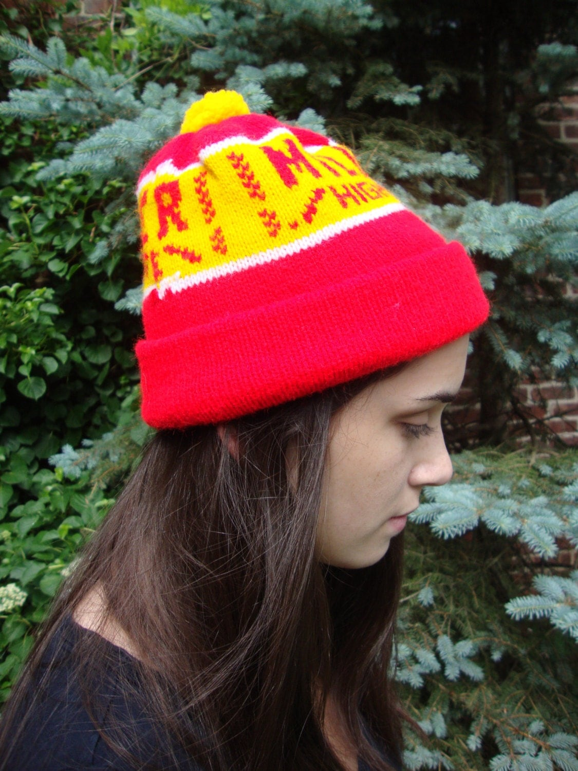 Unique Miller High Life Beer Hat Ski Cap Knit By Onebluenote