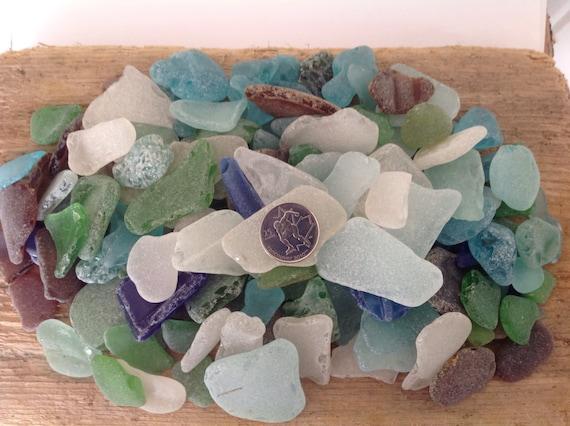 Bulk beach glass sea glass crafts mosaic supplies beach for Craft mosaic tiles bulk
