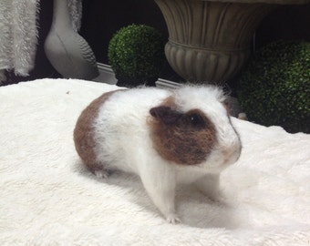 Needle Felted Guinea Pig Made to Order