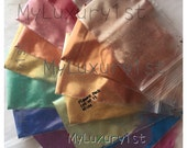 Mica Pigment Lot of 15  Soap Making, Mineral Make up, Eye, Lip, Lotion Shimmer Powder Samples 1g Each All Colors