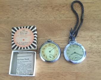 Vintage.  Pocket Watches