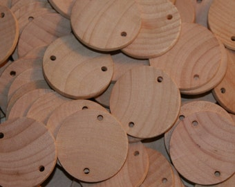 """Natural Unfinished Birthday Board Discs 1-1/2"""" x 1/8"""""""
