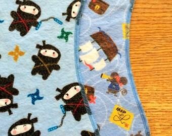 Burp Cloth, Ninja Pirates