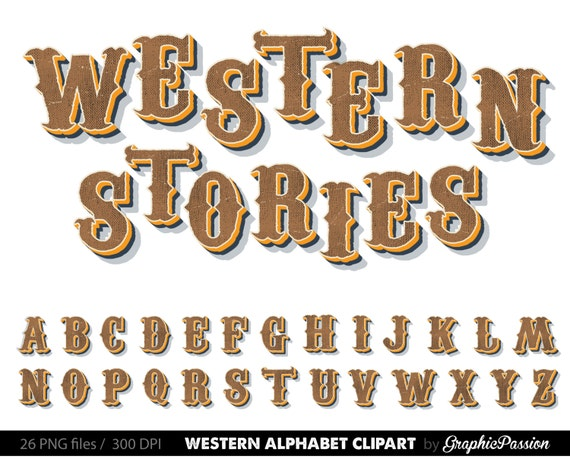 9 letter countries country western digital alphabet steampunk clip alphabet 34297