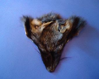 Cross Fox Face Fur