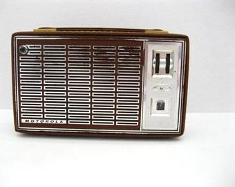1960's Motorola Model X28N Transistor Radio