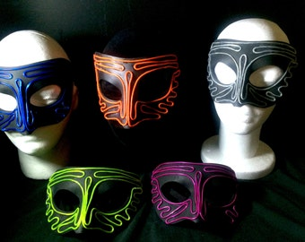 Mask Light Up Mask - (total 2 x in  Pack) NightHawk