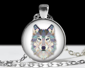 Wolf Necklace Wolf Jewelry Necklace Wearable Art Pendant Charm Wolf Pendant Charm Wolf Keychain
