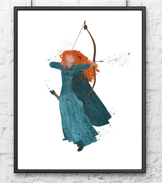 brave watercolor by bezawesome - photo #16